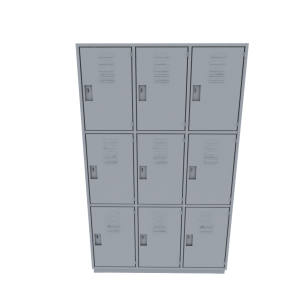 Locker de 9 compartimentos